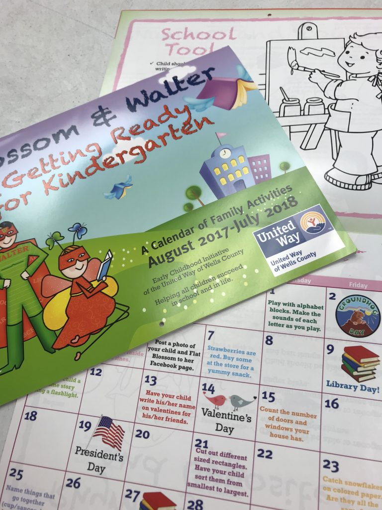 Kindergarten Readiness Calendar : Getting ready for kindergarten calendar children